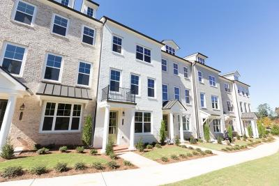Roswell Condo/Townhouse For Sale: 10117 Windalier Way