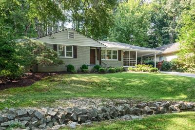 Brookhaven Single Family Home For Sale: 2222 Drew Valley Road NE