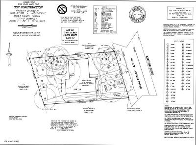Dunwoody Residential Lots & Land For Sale: 4948 Leisure Drive