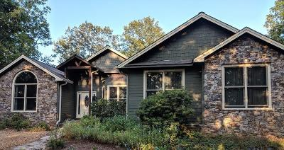 Habersham County Single Family Home For Sale: 5000 Alec Mountain Road