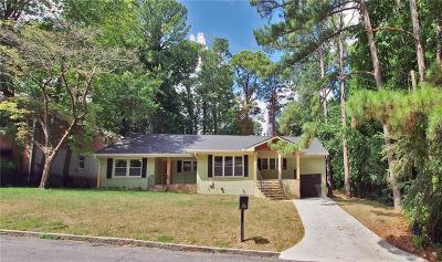 Atlanta Single Family Home For Sale: 1984 Kilburn Drive NE