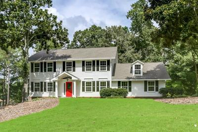 Roswell Single Family Home For Sale: 975 Oakhaven Drive