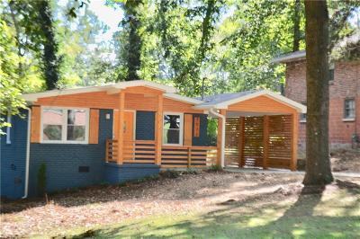 Atlanta Single Family Home For Sale: 2572 Warwick Circle NE
