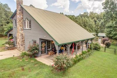 Pickens County Single Family Home For Sale: 489 & 491 Hill City Road