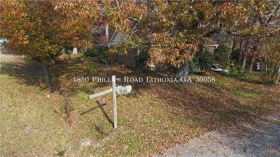 Single Family Home For Sale: 1850 Phillips Road