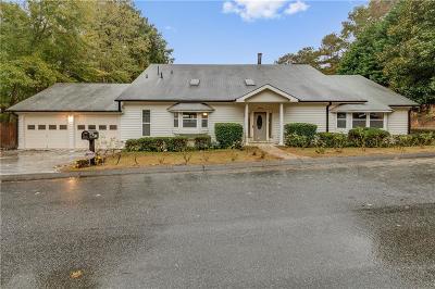 Marietta Single Family Home For Sale: 2988 Chipmunk Trail SE