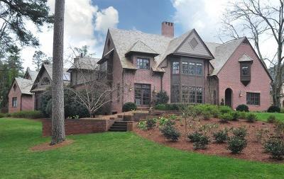 Atlanta GA Single Family Home For Sale: $2,595,000