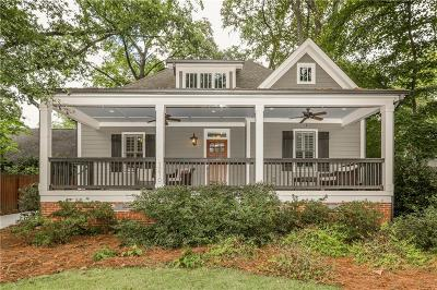 Decatur Single Family Home For Sale: 1210 Oakview Road