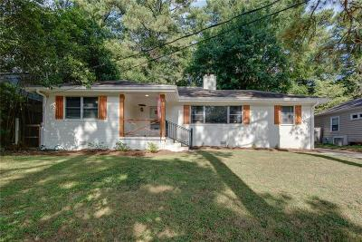 Atlanta Single Family Home For Sale: 2278 Armand Road NE