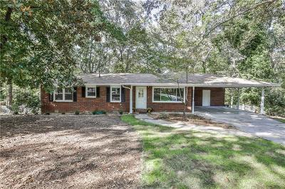 Canton Single Family Home Contingent-Due Diligence: 143 Mountainview Circle