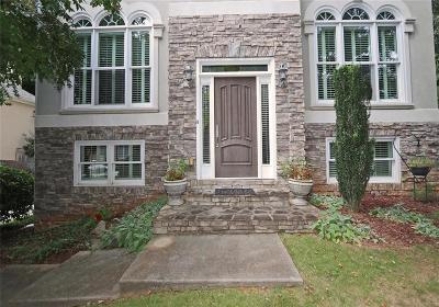 Brookhaven Single Family Home For Sale: 2044 Lenox Cove Circle NE