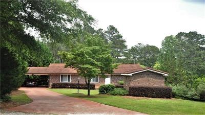 Cumming Single Family Home For Sale: 7070 Cagle Drive