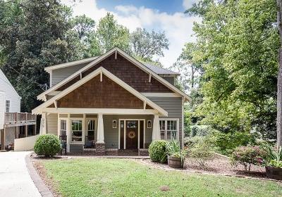 Peachtree Hills Single Family Home For Sale: 279 Eureka Drive NE