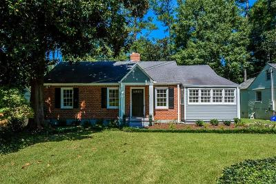 Atlanta Single Family Home For Sale: 1912 Westminster Way