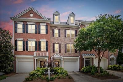 Roswell  Condo/Townhouse For Sale: 3410 Waters Edge Trail