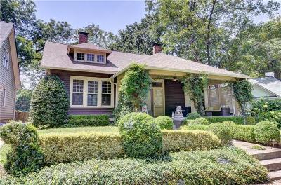 Inman Park Single Family Home For Sale: 242 Haralson Avenue NE