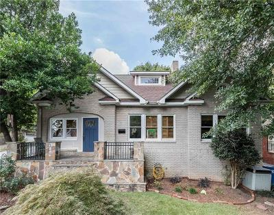 Morningside Single Family Home For Sale: 1448 N Highland Avenue NE