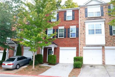 Kennesaw Condo/Townhouse For Sale: 345 Heritage Park Trace NW #7