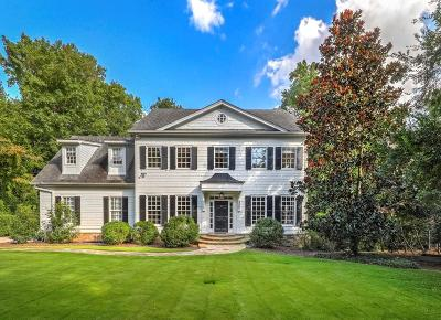 Single Family Home For Sale: 1124 Moores Mill Road NW