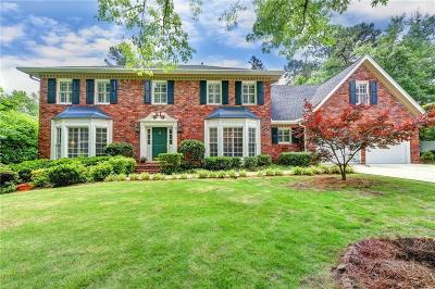 Roswell Single Family Home For Sale: 3015 Ascot Lane