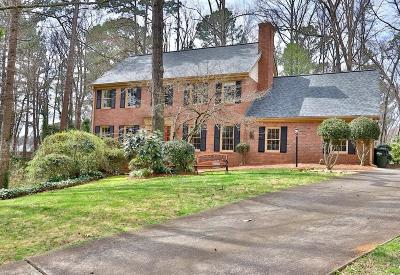 Single Family Home For Sale: 4501 Karls Gate Drive