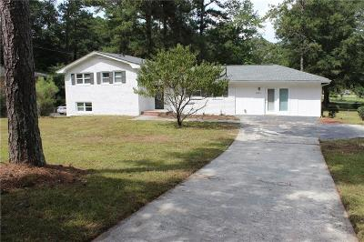 Marietta Single Family Home For Sale: 2234 Hurt Road SW