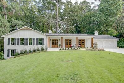Sandy Springs Single Family Home For Sale: 6175 Weatherly Drive