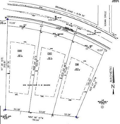 Brookhaven Residential Lots & Land For Sale: 1283 Briarwood Road