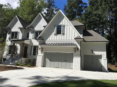 Brookhaven Single Family Home For Sale: 3506 Hillstone Court NE