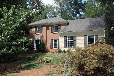 Marietta Single Family Home For Sale: 1535 East Bank Drive NE