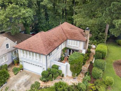 Atlanta Single Family Home For Sale: 550 Montgomery Ferry Road NE