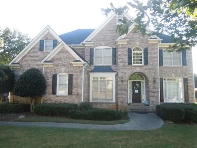 Kennesaw Single Family Home For Sale: 1827 Brackendale Road NW
