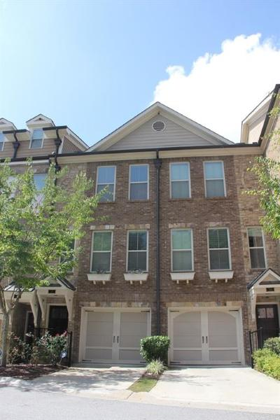 Fulton County Condo/Townhouse For Sale: 282 Goodson Way NW