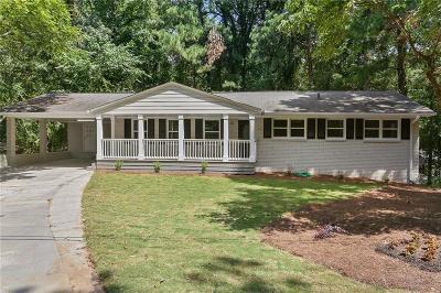 Marietta GA Single Family Home For Sale: $275,000