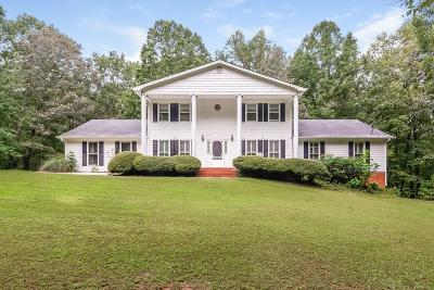 White Single Family Home For Sale: 290 New Chapel Road