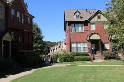 Brookhaven Condo/Townhouse For Sale: 3711 Ashford Creek Hill NE