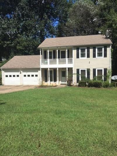 Kennesaw Single Family Home For Sale: 3352 Country Creek Drive NW