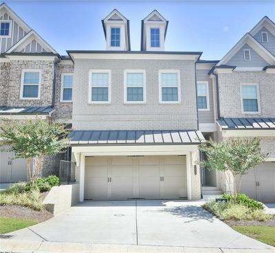 Smyrna Condo/Townhouse For Sale: 3491 Fenton Drive SE