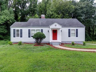 Atlanta GA Single Family Home For Sale: $230,000