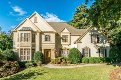 Johns Creek Single Family Home For Sale: 10280 Oxford Mill Circle