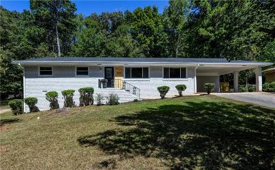 Decatur Single Family Home For Sale: 3864 Leisure Woods Drive