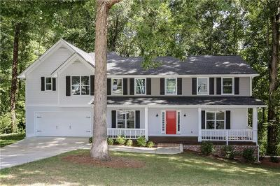 Marietta Single Family Home For Sale: 3871 Valley Green Drive