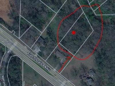Decatur Residential Lots & Land For Sale: 4212 Flat Shoals Parkway