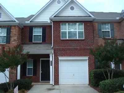 Lawrenceville Condo/Townhouse For Sale: 3875 Pleasant Oaks Drive