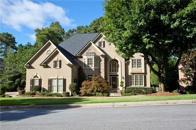 Cobb County Single Family Home For Sale: 4817 Old Timber Ridge Road NE