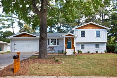 Smyrna Single Family Home For Sale: 531 Pineview Drive SE