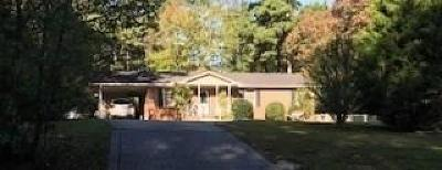 Griffin Single Family Home For Sale: 1825 Jordan Hill Road