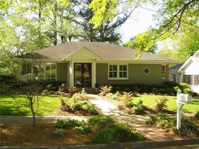 Atlanta Single Family Home For Sale: 595 NE Sherwood Road