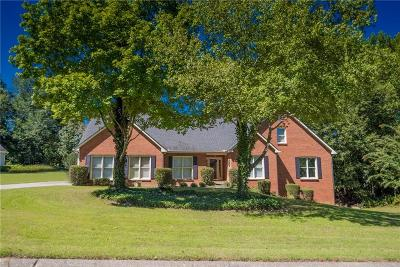 Dacula Single Family Home For Sale: 2822 Ashton Tree Place