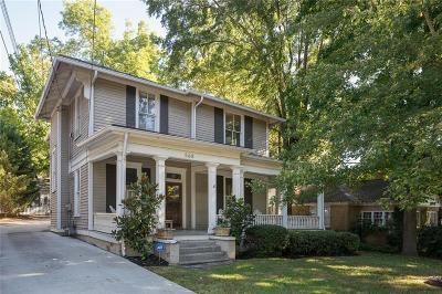 Single Family Home For Sale: 568 Saint Charles Avenue NE